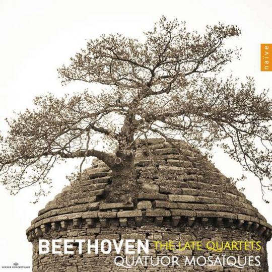 Ludwig van Beethoven. Streichquartette Nr. 12-16. 3 CDs.