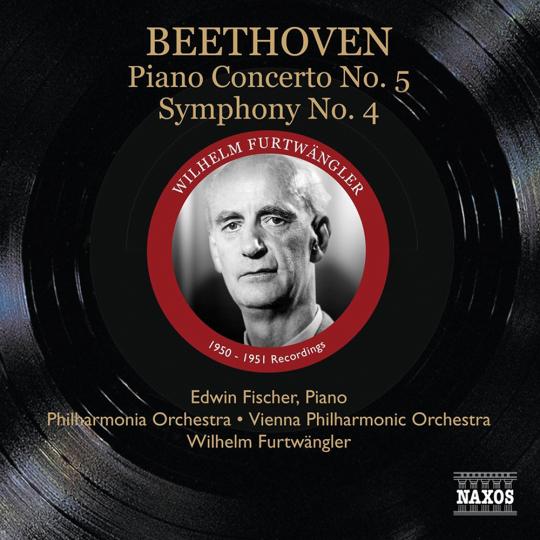 Ludwig van Beethoven. Symphonie Nr. 4 & Klavierkonzert Nr. 5. CD.