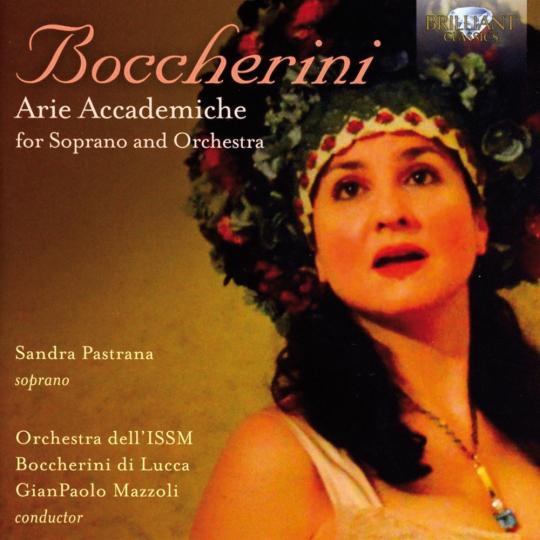 Luigi Boccherini. Arie Accademiche für Sopran & Orchester. CD.