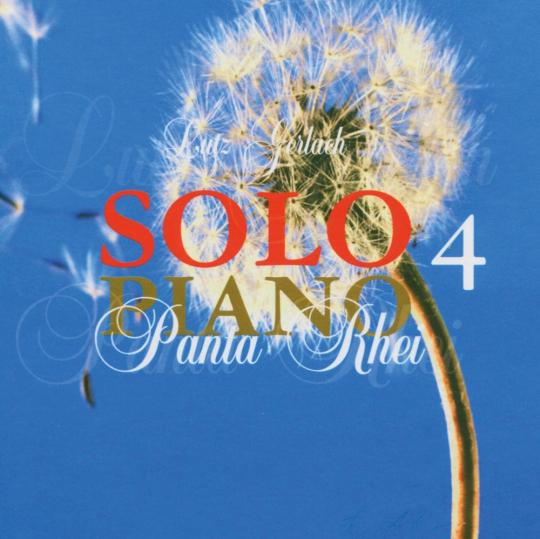 Lutz Gerlach. Solo Piano 4 - Panta Rhei. CD.