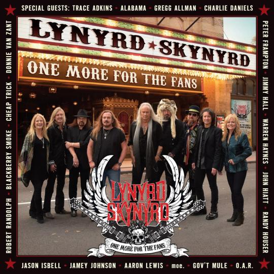 Lynyrd Skynyrd. One More For The Fans. 2 CDs, 1 DVD.