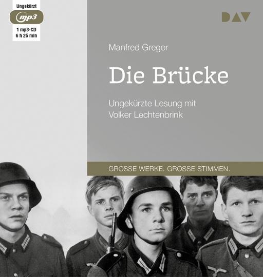 Manfred Gregor. Die Brücke. Ungekürzte Lesung. 1 mp3-CD.