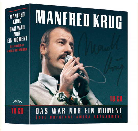 Manfred Krug. Das war nur ein Moment (Die Original AMIGA Aufnahmen). 10 CDs.