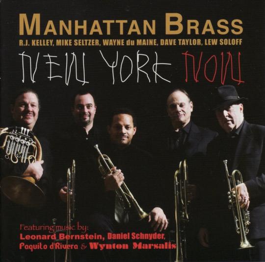 Manhattan Brass. New York Now. CD.