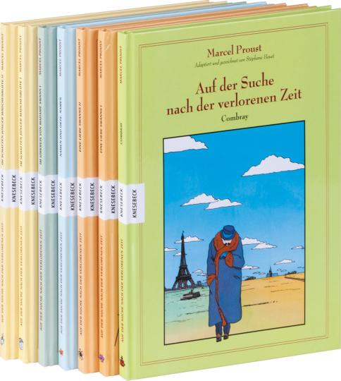 Marcel Proust. Auf der Suche nach der verlorenen Zeit. Das große Graphic Novel Paket. 7 Bände.