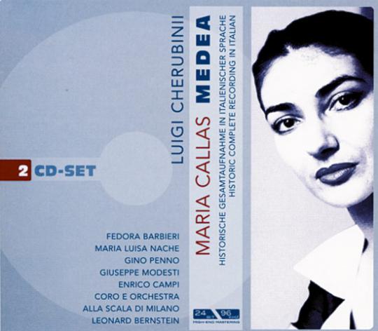 Maria Callas Edition - Medea. 2 CDs.