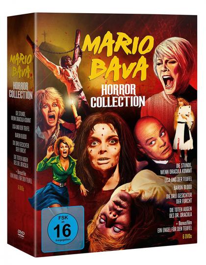Mario Bava Horror Collection. 6 DVDs.