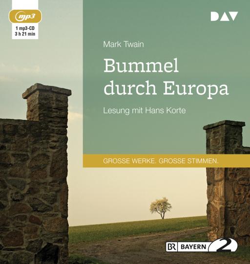 Mark Twain. Bummel durch Europa. mp3-CD.