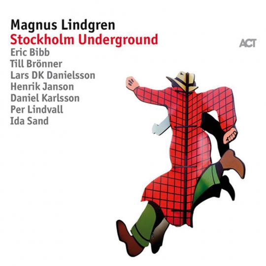 Markus Lindgren. Stockholm Underground. CD.