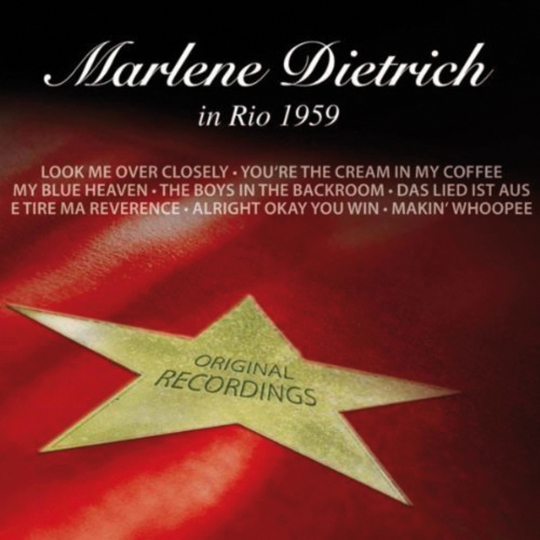 Marlene Dietrich in Rio 1959. CD.