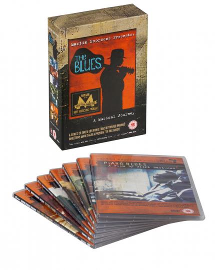 Martin Scorsese präsentiert : The Blues - Die Kollektion. 8 DVDs