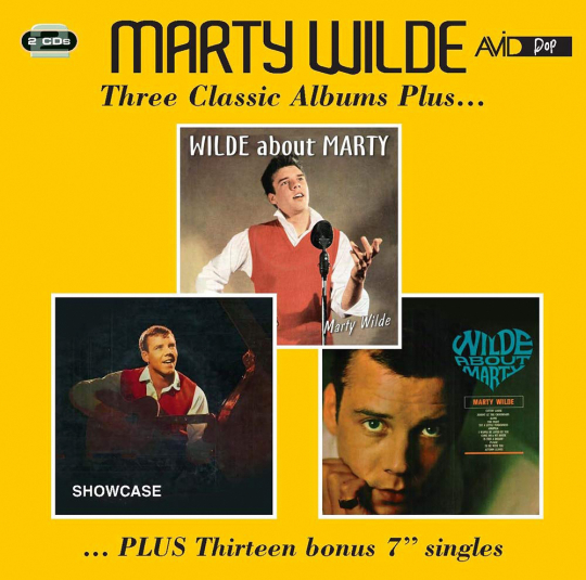 Marty Wilde. Three Classic Albums. 2 CDs.