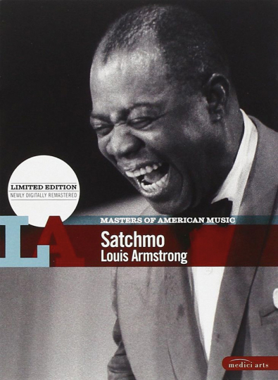 Masters of American Music. Louis Armstrong. Satchmo. DVD.