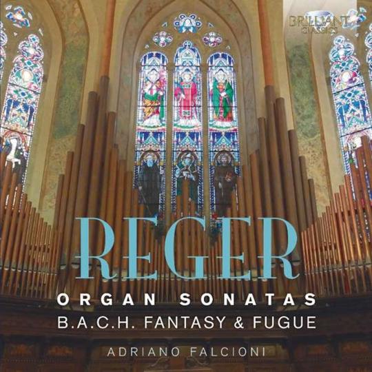 Max Reger. Orgelsonaten Nr. 1 und 2. CD.