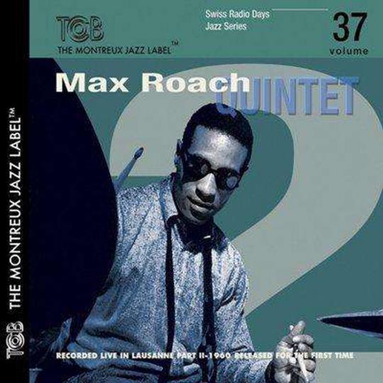 Max Roach. Lausanne 1960. CD.