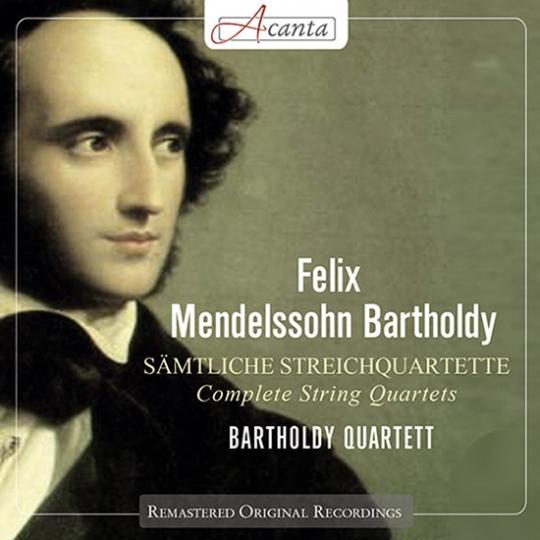 Mendelssohn-Bartholdy. Sämtliche Streichquartette.