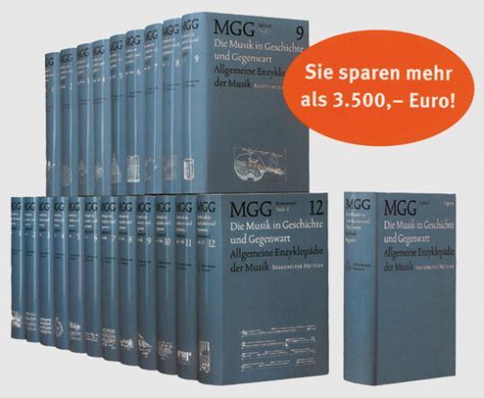 MGG - Musik in Geschichte und Gegenwart - Allgemeine Enzykklopädie der Musik