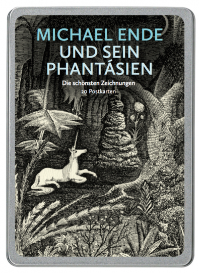 Michael Ende und sein Phantásien. Die schönsten Zeichnungen. 20 Postkarten.