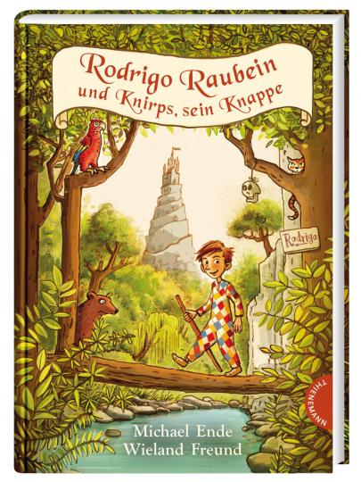 Michael Ende. Rodrigo Raubein und Knirps, sein Knappe.