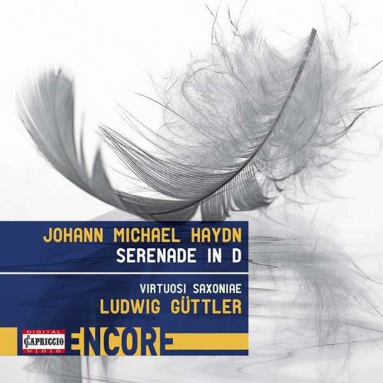 Michael Haydn. Serenade D-dur P.87. CD.