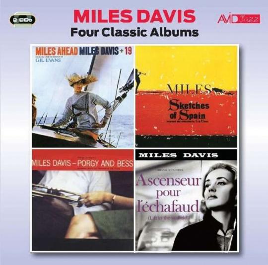 Miles Davis. Four Classic Albums. 2 CDs.