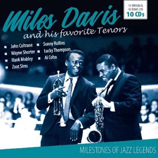 Miles Davis. Milestones Of Jazz Legend. 10 CDs.