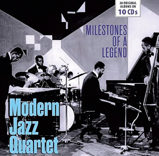 Modern Jazz Quartet. 20 Original-Alben. 10 CDs.