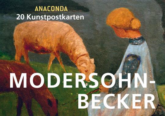 Modersohn-Becker. 20 Kunstpostkarten.