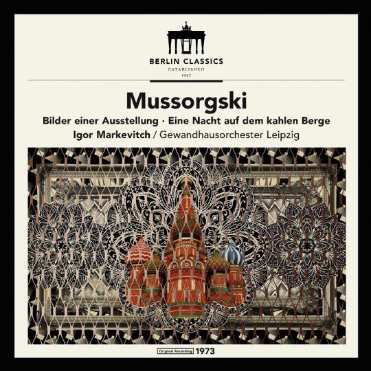 Modest Petrowitsch Mussorgski. Bilder einer Ausstellung. Vinyl LP.
