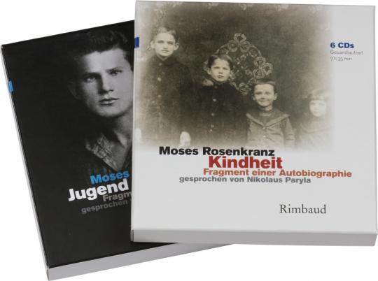 Moses Rosenkranz. Kindheit. Jugend. Fragmente einer Autobiographie. Hörbuch 10 CDs.