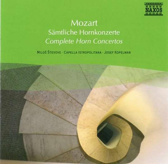 Mozart. Sämtliche Hornkonzerte. CD.