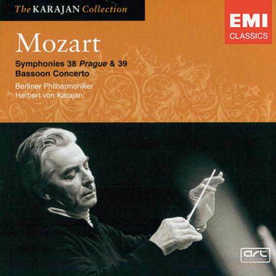 Mozart. Symphonies 38 Prague & 39. Bassoon Concerto.