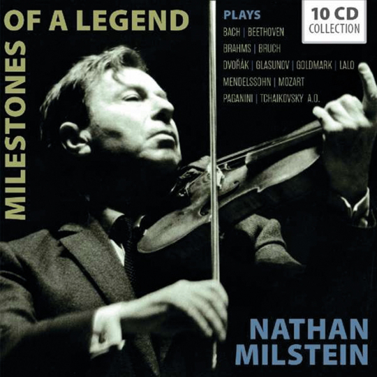 Nathan Milstein. Milestones of a Legend. 10 CDs.