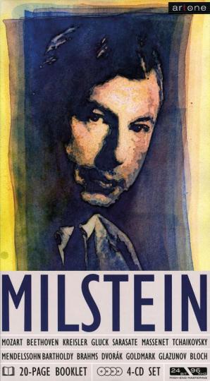 Nathan Milstein. Set im Buchformat. 4 CDs.