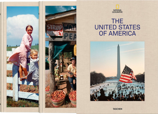 National Geographic. The United States of America. 2 Bände.