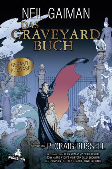 Neil Gaiman. Das Graveyard-Buch. Gesamtausgabe. Graphic Novel.