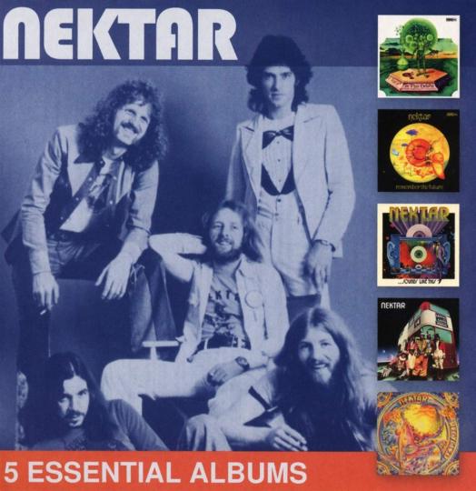 Nektar. 5 Essential Albums. 5 CDs.