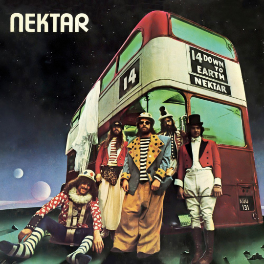 Nektar. Down To Earth. CD.