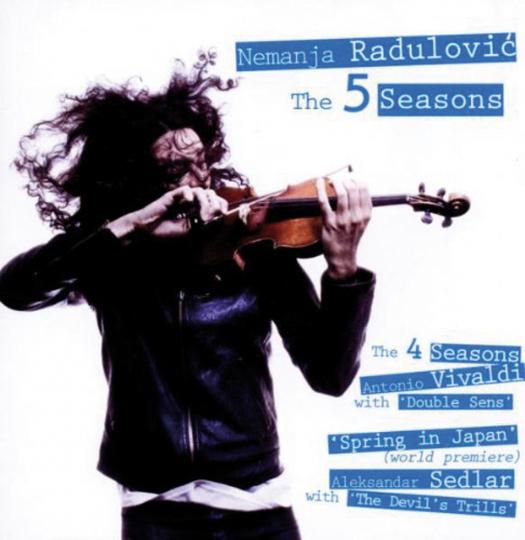 Nemanja Radulovic. The 5 Seasons. CD.