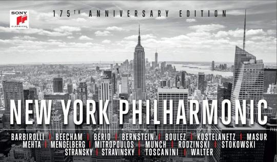 New York Philharmonic. 175th Anniversary Edition. 65 CDs.