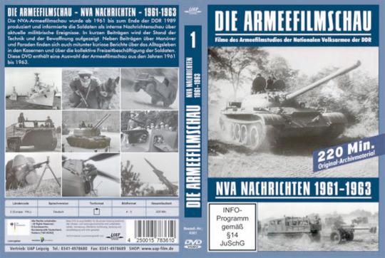 NVA Nachrichten 1961-1963 DVD