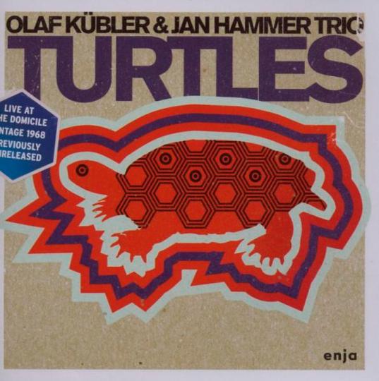 Olaf Kübler & Jan Hammer. Turtles. Live. CD.