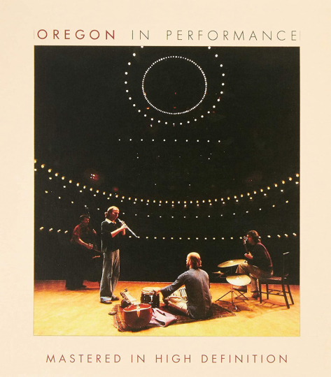 Oregon. In Performance. CD.