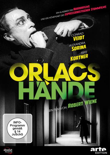 Orlacs Hände (1923). DVD.