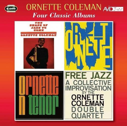 Ornette Coleman. Four Classic Albums. 2 CDs.