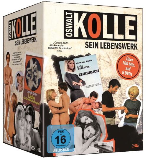 Oswalt Kolle. Sein Lebenswerk. 8 DVDs.