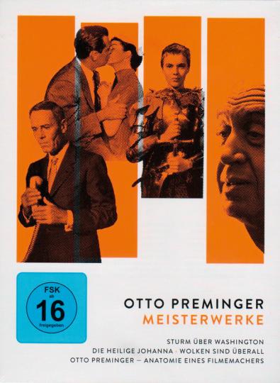Otto Preminger: Meisterwerke. 4 DVDs.