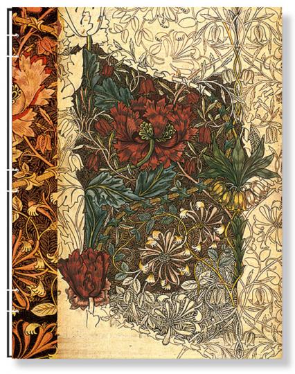 Paperblanks »Entwurf für ein Geißblatt«.