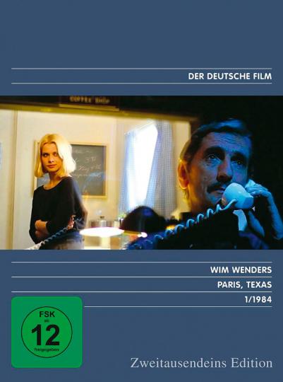 Paris, Texas. DVD.