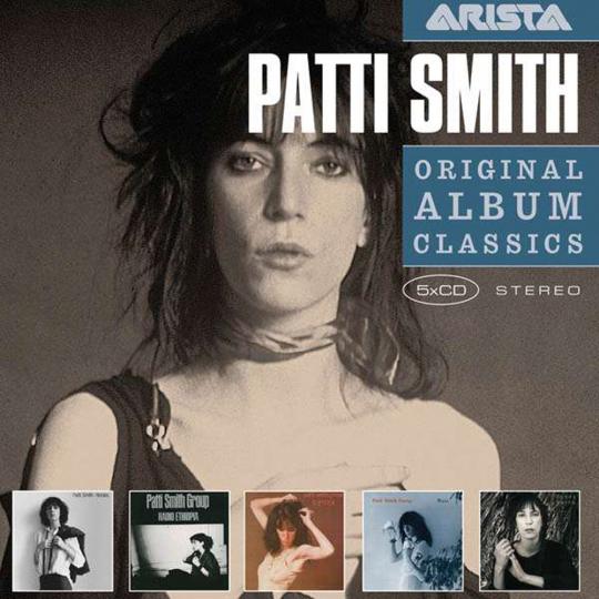 Patti Smith. Original Album Classics. 5 CDs.